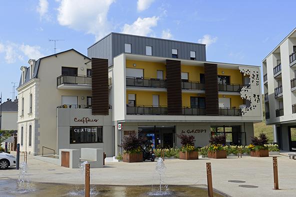 Reportage, architecture, agence THELLIER Laval, centre ville de CHANGE