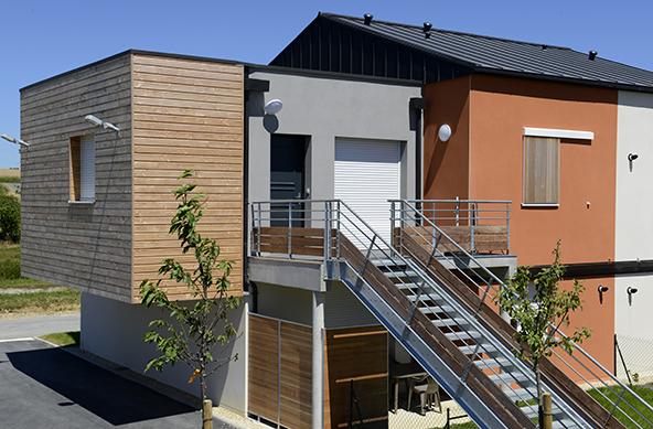 architecture, agence THELLIER Laval, logement LOUVERNE