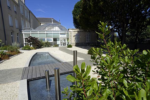 architecture, agence THELLIER Laval, lycée Haute-Follis, Laval